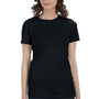 Bella + Canvas Womens Solid Black The Favorite Short Sleeve Crewneck T-Shirt