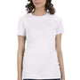 Bella + Canvas Womens Solid White The Favorite Short Sleeve Crewneck T-Shirt
