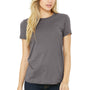 Bella + Canvas Womens Storm Grey The Favorite Short Sleeve Crewneck T-Shirt