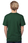 Threadfast Apparel 600A Youth Ultimate Short Sleeve Crewneck T-Shirt Forest Green Back