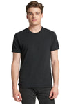 Next Level 6010 Mens Jersey Short Sleeve Crewneck T-Shirt Black Front