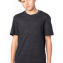 Threadfast Apparel Youth Short Sleeve Crewneck T-Shirt - Black