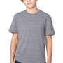 Threadfast Apparel Youth Short Sleeve Crewneck T-Shirt - Grey