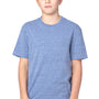 Threadfast Apparel Youth Short Sleeve Crewneck T-Shirt - Navy Blue