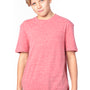 Threadfast Apparel Youth Short Sleeve Crewneck T-Shirt - Red