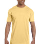 Comfort Colors Mens Short Sleeve Crewneck T-Shirt w/ Pocket - Butter Yellow