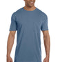 Comfort Colors Mens Short Sleeve Crewneck T-Shirt w/ Pocket - Blue Jean