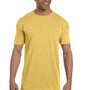 Comfort Colors Mens Short Sleeve Crewneck T-Shirt w/ Pocket - Mustard Yellow