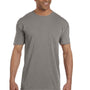 Comfort Colors Mens Short Sleeve Crewneck T-Shirt w/ Pocket - Grey