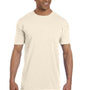 Comfort Colors Mens Short Sleeve Crewneck T-Shirt w/ Pocket - Ivory