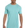 Comfort Colors Mens Short Sleeve Crewneck T-Shirt w/ Pocket - Chalky Mint