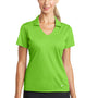 Nike Womens Dri-Fit Moisture Wicking Short Sleeve Polo Shirt - Action Green