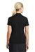 Nike 637165 Womens Dri-Fit Moisture Wicking Short Sleeve Polo Shirt Black Back