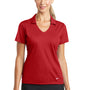 Nike Womens Dri-Fit Moisture Wicking Short Sleeve Polo Shirt - University Red