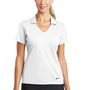 Nike Womens Dri-Fit Moisture Wicking Short Sleeve Polo Shirt - White