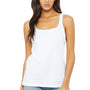 Bella + Canvas Womens White Relaxed Jersey Tank Top