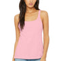 Bella + Canvas Womens Pink Relaxed Jersey Tank Top