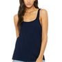 Bella + Canvas Womens Navy Blue Relaxed Jersey Tank Top