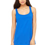 Bella + Canvas Womens True Royal Blue Relaxed Jersey Tank Top