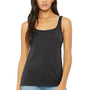 Bella + Canvas Womens Heather Dark Grey Relaxed Jersey Tank Top