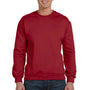 Anvil Mens Independence Red Fleece Crewneck Sweatshirt