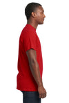 Next Level 7410S Mens Power Short Sleeve Crewneck T-Shirt Red Side