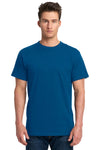 Next Level 7410S Mens Power Short Sleeve Crewneck T-Shirt Royal Blue Front