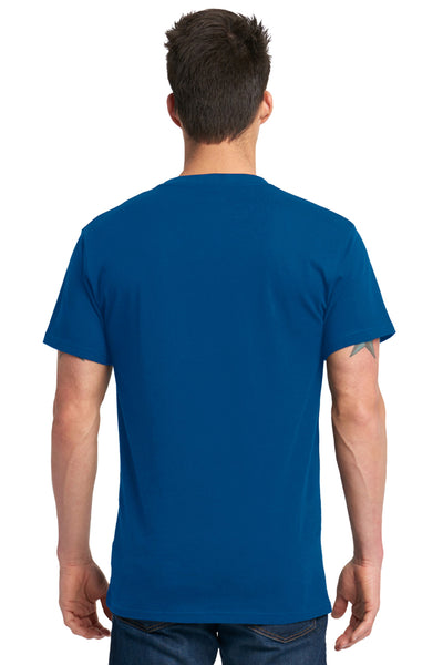 Next Level 7410S Mens Power Short Sleeve Crewneck T-Shirt Royal Blue Back