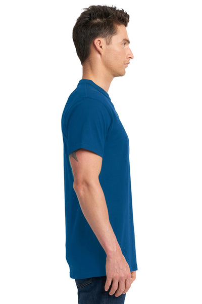Next Level 7410S Mens Power Short Sleeve Crewneck T-Shirt Royal Blue Side