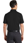 Nike 746099 Mens Icon Dri-Fit Moisture Wicking Short Sleeve Polo Shirt Black Back