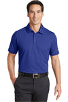Nike 746099 Mens Icon Dri-Fit Moisture Wicking Short Sleeve Polo Shirt Royal Blue Front