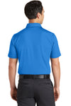 Nike 746099 Mens Icon Dri-Fit Moisture Wicking Short Sleeve Polo Shirt Light Photo Blue Back