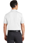 Nike 746099 Mens Icon Dri-Fit Moisture Wicking Short Sleeve Polo Shirt White Back