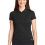 Nike Womens Icon Dri-Fit Moisture Wicking Short Sleeve Polo Shirt - Black