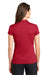 Nike 746100 Womens Icon Dri-Fit Moisture Wicking Short Sleeve Polo Shirt Red Back