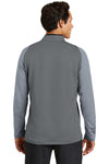 Nike 779795 Mens Dri-Fit Moisture Wicking 1/4 Zip Sweatshirt Black/Cool Grey Back