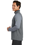 Nike 779795 Mens Dri-Fit Moisture Wicking 1/4 Zip Sweatshirt Black/Cool Grey Side