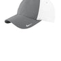Nike Mens Moisture Wicking Adjustable Hat - Dark Grey/White