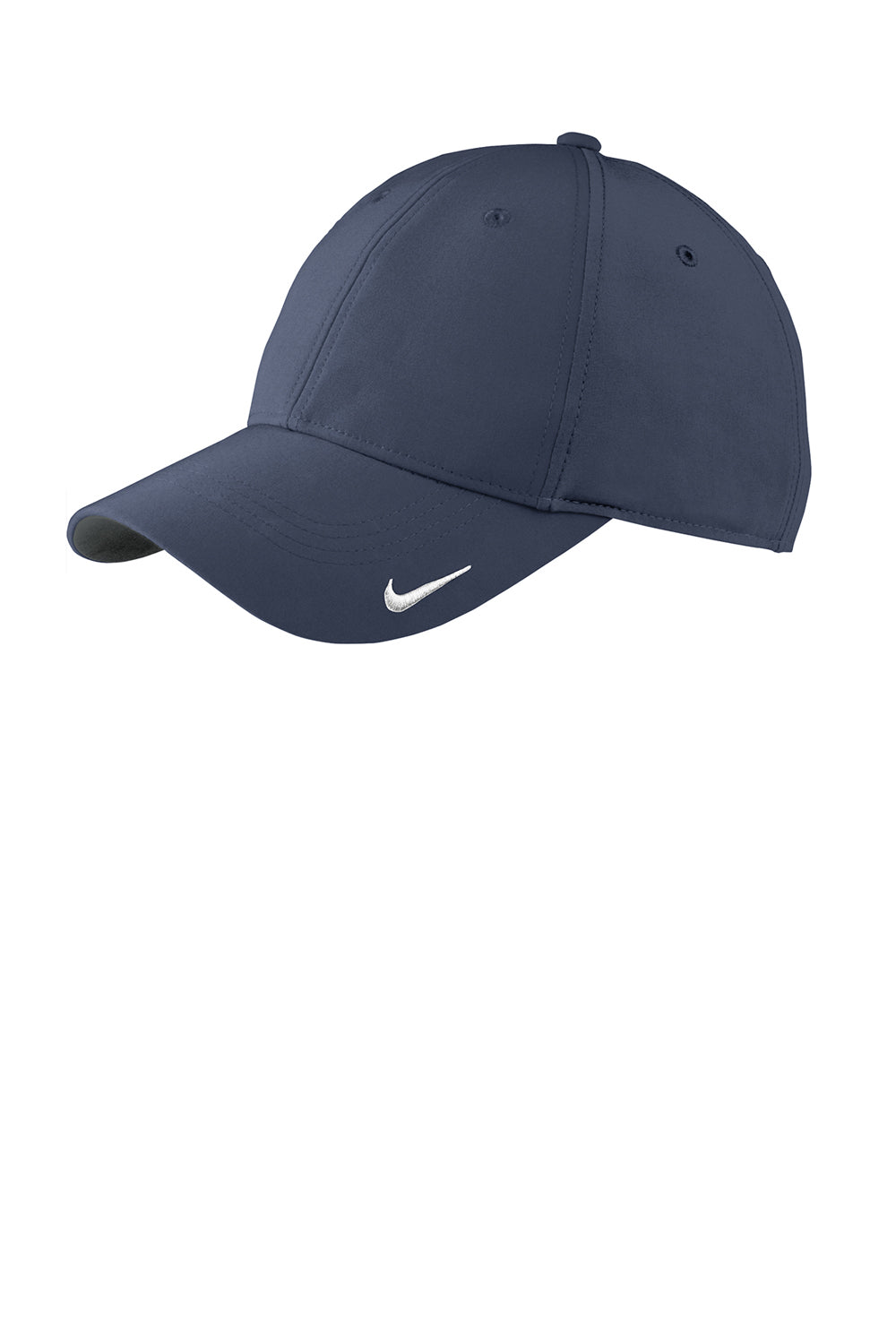 Nike 779797 Mens Moisture Wicking Adjustable Hat Navy Blue Front