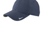 Nike Mens Moisture Wicking Adjustable Hat - Navy Blue