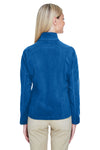 North End 78172 Womens Voyage Full Zip Fleece Jacket Royal Blue Back