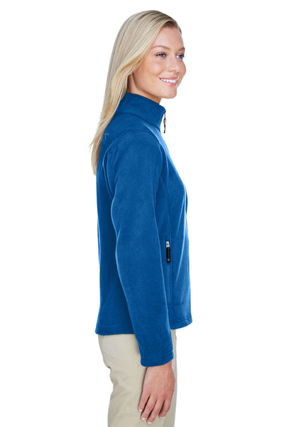 North End 78172 Womens Voyage Full Zip Fleece Jacket Royal Blue Side
