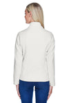 North End 78172 Womens Voyage Full Zip Fleece Jacket White Back