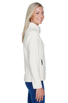 North End 78172 Womens Voyage Full Zip Fleece Jacket White Side