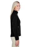 North End 78172 Womens Voyage Full Zip Fleece Jacket Black Side
