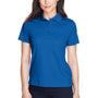 Core 365 Womens Origin Performance Moisture Wicking Short Sleeve Polo Shirt - True Royal Blue
