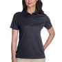 Core 365 Womens Origin Performance Moisture Wicking Short Sleeve Polo Shirt - Carbon Grey
