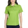 Core 365 Womens Origin Performance Moisture Wicking Short Sleeve Polo Shirt - Acid Green