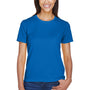 Core 365 Womens Pace Performance Moisture Wicking Short Sleeve Crewneck T-Shirt - True Royal Blue
