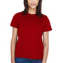 Core 365 Womens Pace Performance Moisture Wicking Short Sleeve Crewneck T-Shirt - Classic Red